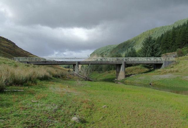 Cwm Tywi at Tywi Bridge, Ceredigion