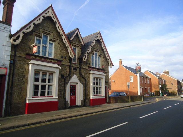The Prince Albert public house, Stoke Road, Guildford
