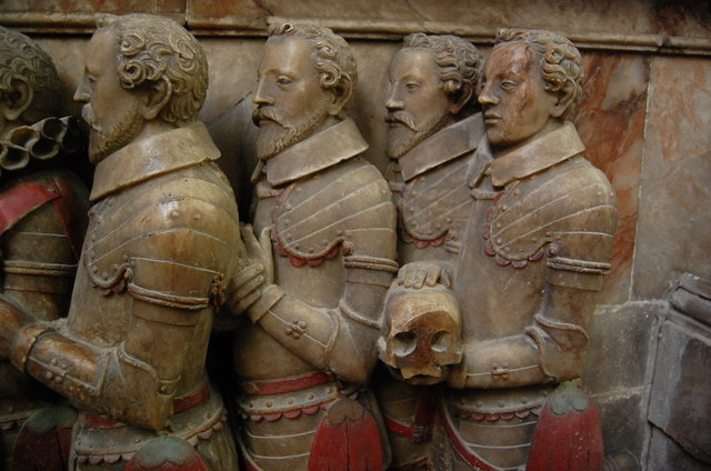 Sons of Thomas Smythe on his memorial