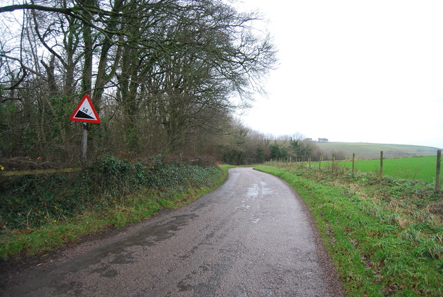 Steep hill approaching