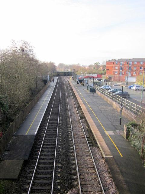 Bromsgrove Station From St. Godwald's Bridge