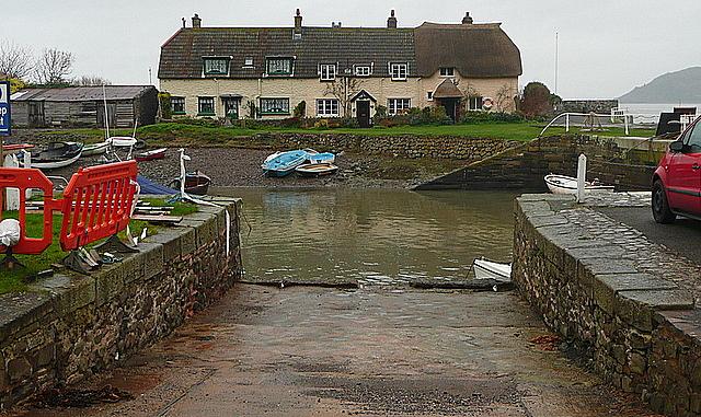 Cottages at Porlock Weir
