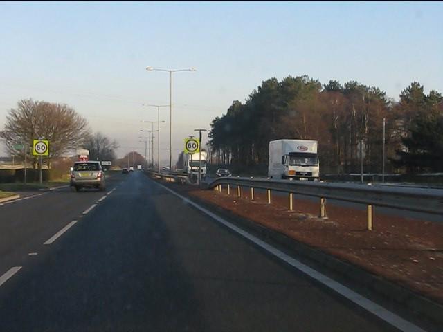 A580 at Coach Road