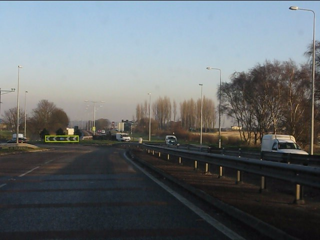 Blind Foot Road roundabout, A580