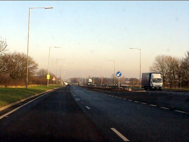 A580 at Houghtons Lane junction