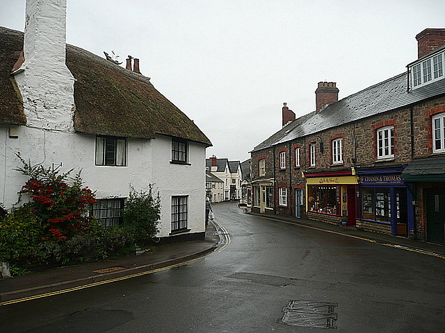 Porlock High Street