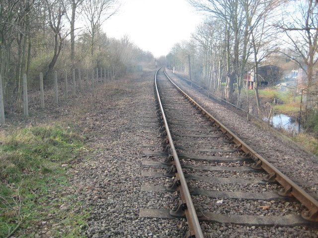 Nene Valley Railway at Orton Mere