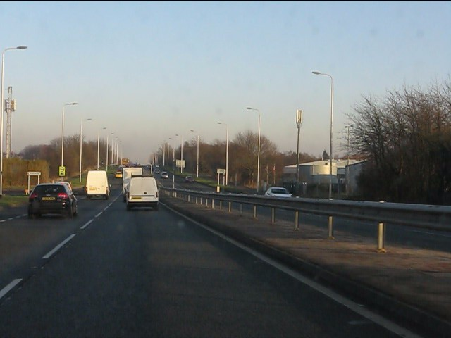 Moss Bank Road junction, A580
