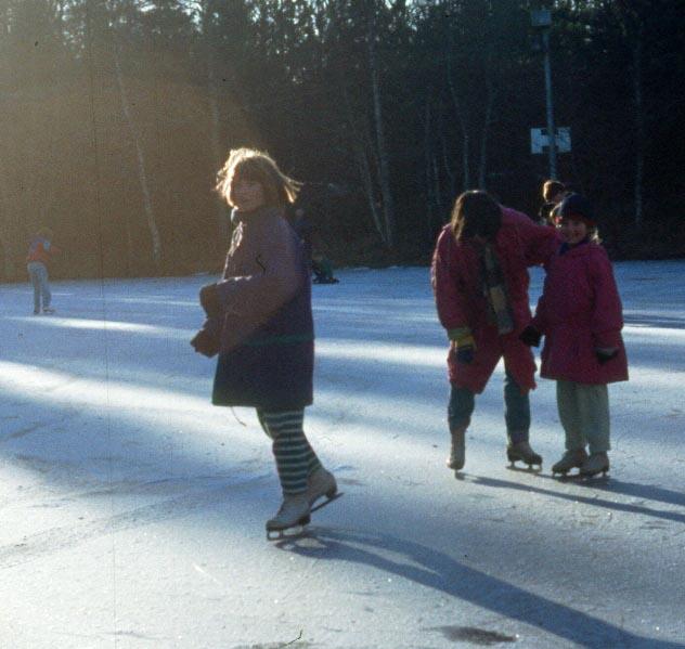 The skating pond at Alford