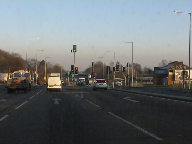 Carr Mill Road junction, A580