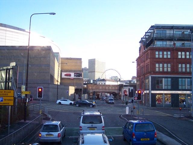 Great Ducie Street near Victoria Station