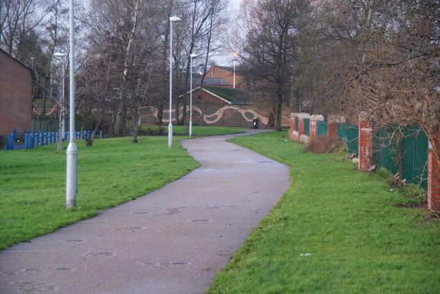 Riverside Walk, Lower Broughton