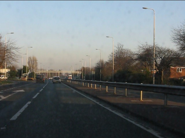 A580 at Millfield Lane junction