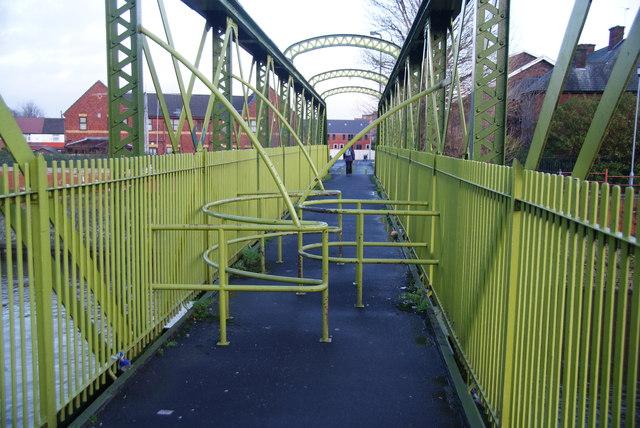 Footbridge over the Irwell
