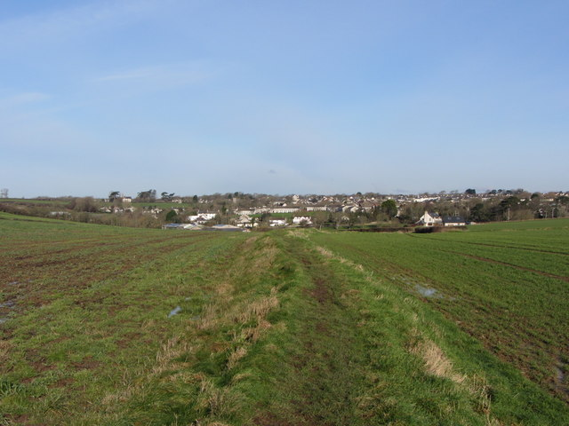 Footpath near Llantwit Major