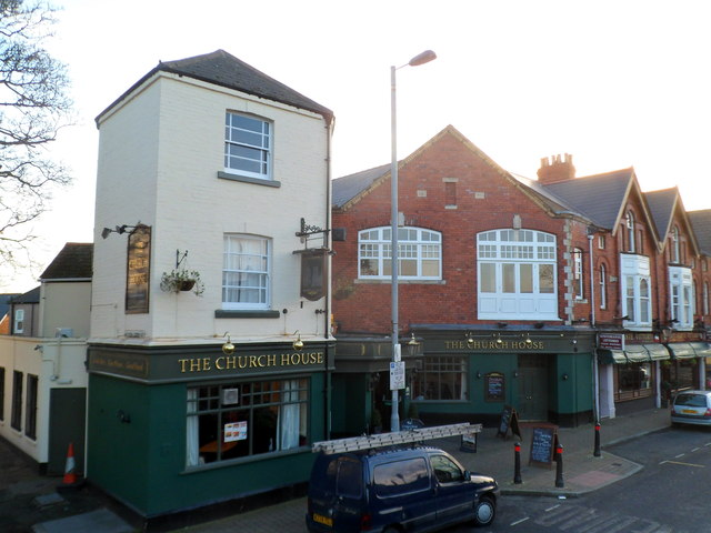 The Church House pub, Stow Hill, Newport