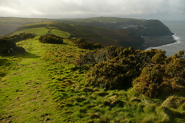 Down towards Lynmouth