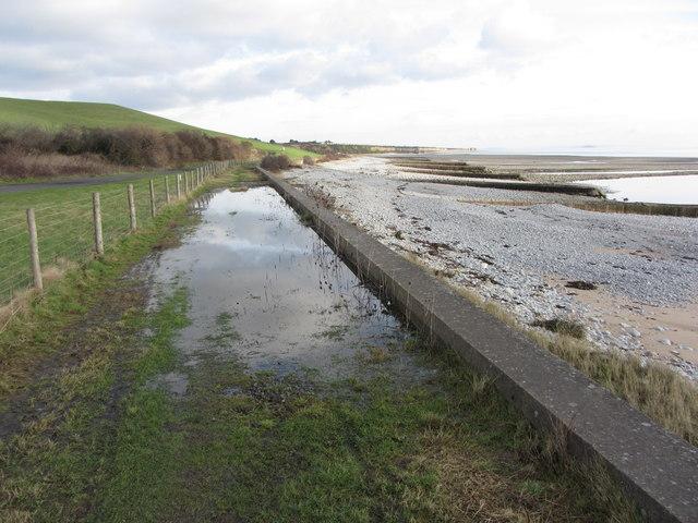 Coastal Path near Leys Beach