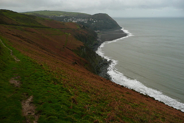 Towards Lynmouth