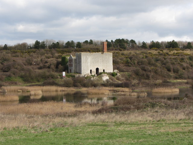 Old lime works, Aberthaw