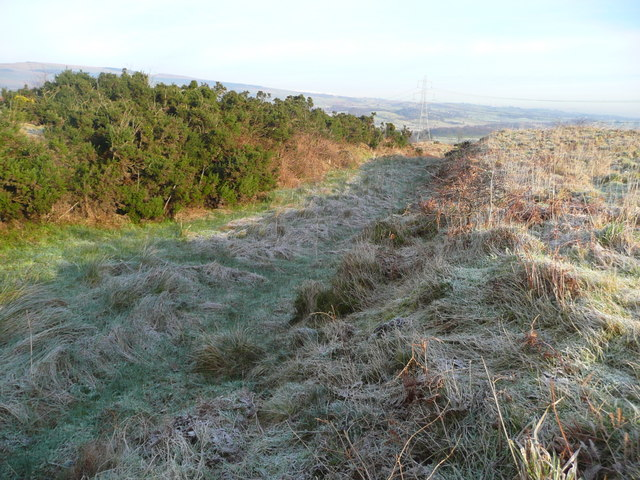Antonine Wall and ditch