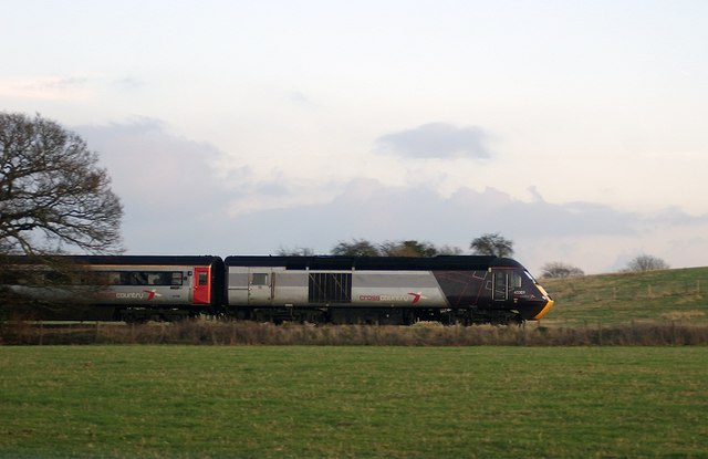 High Speed Train by Fish House Lane