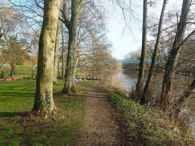Blandford Forum, riverside walk