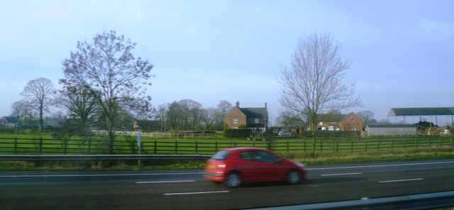 Plumtree Farm from the M6