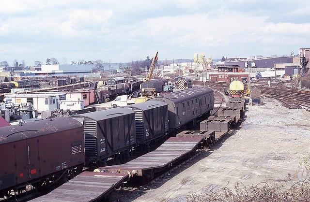 Railway yard at Horsham (1)