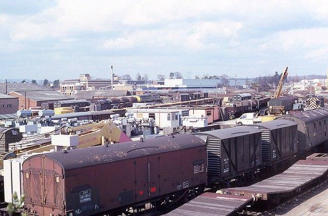 Railway yard at Horsham (2)