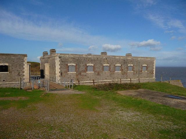 Brean Down - Brean Down Fort