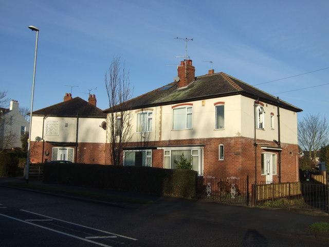 Houses on Green Lane