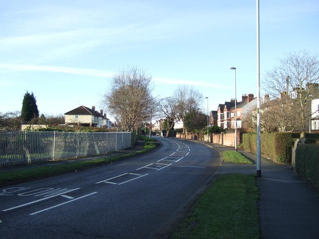 Green Lane heading west