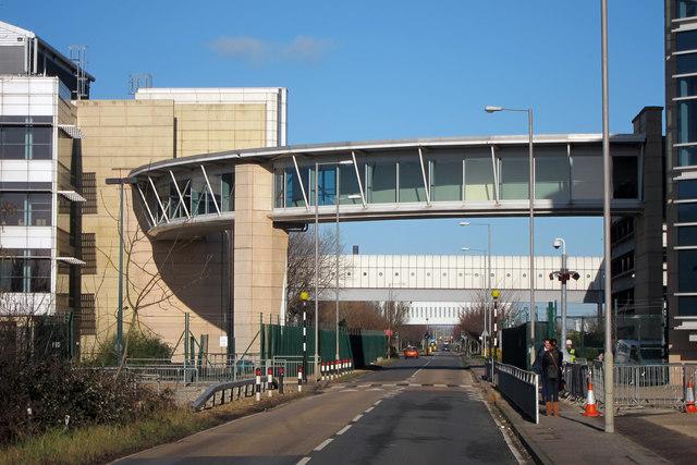 Footbridge over Ramsgate Road