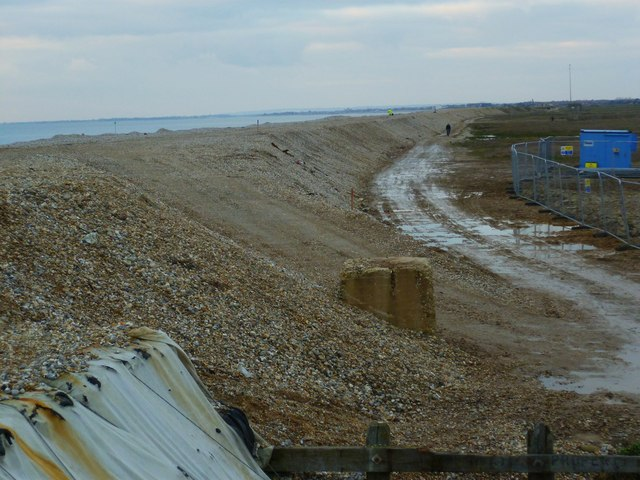 Sea defences west of Selsey