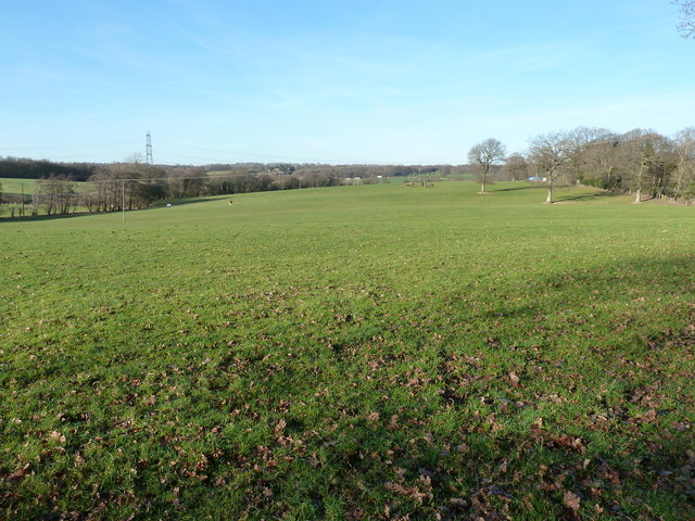 View north out to the Low Weald