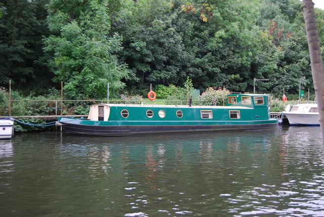 Narrowboat, River Medway