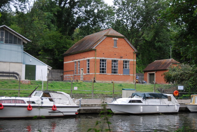Pump house by the River Medway