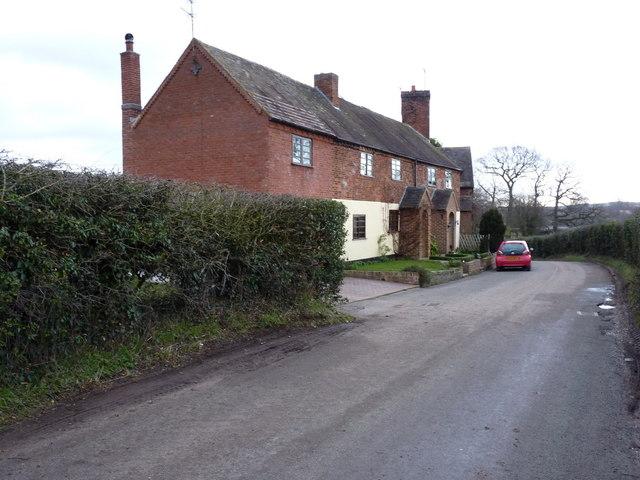 Lower Drayton cottages