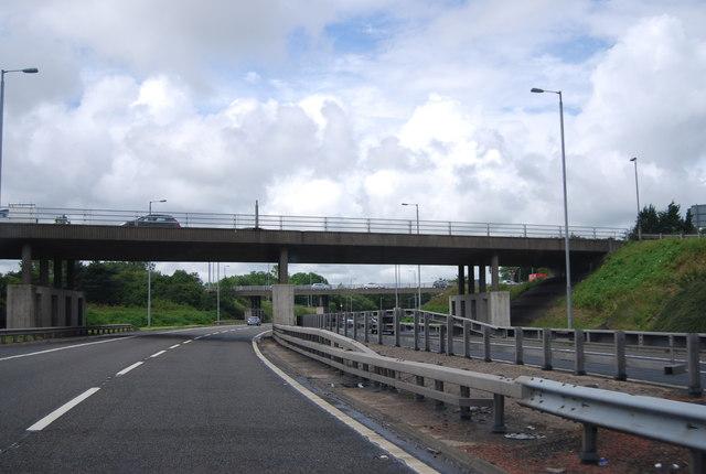Overbridge, Junction 29, M8