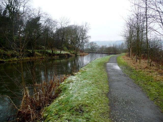 Forth and Clyde Canal - all iced up