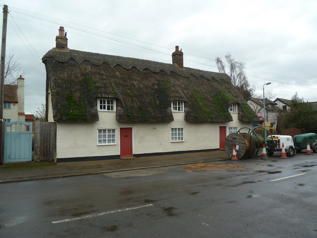Cottages, Church Street, Church End
