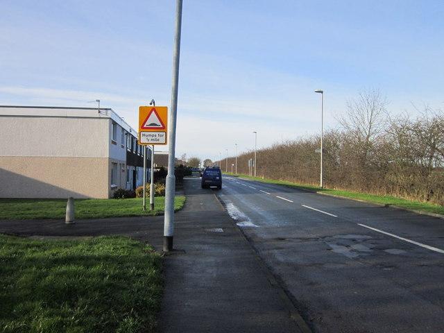 Red Hall Lane, taken from Coal Road