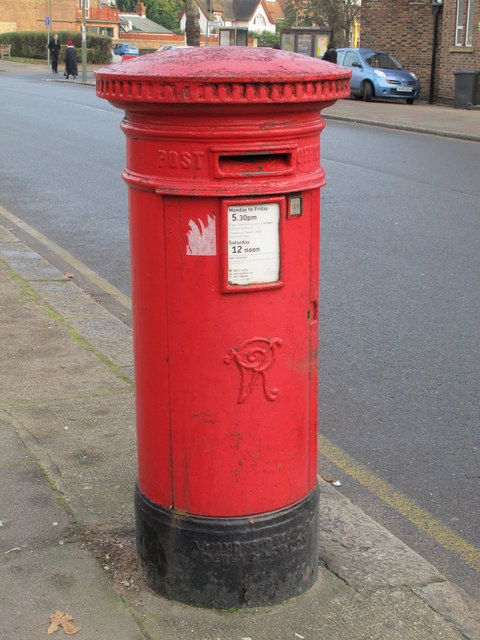Victorian postbox, The Burroughs / St. Josephs Grove, NW4