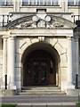 TQ2289 : Entrance to Hendon Town Hall The Burroughs, NW4 by Mike Quinn