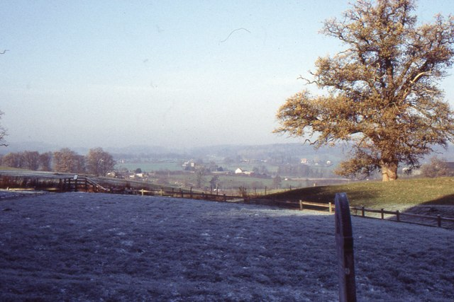 Kilpeck: view from the churchyard