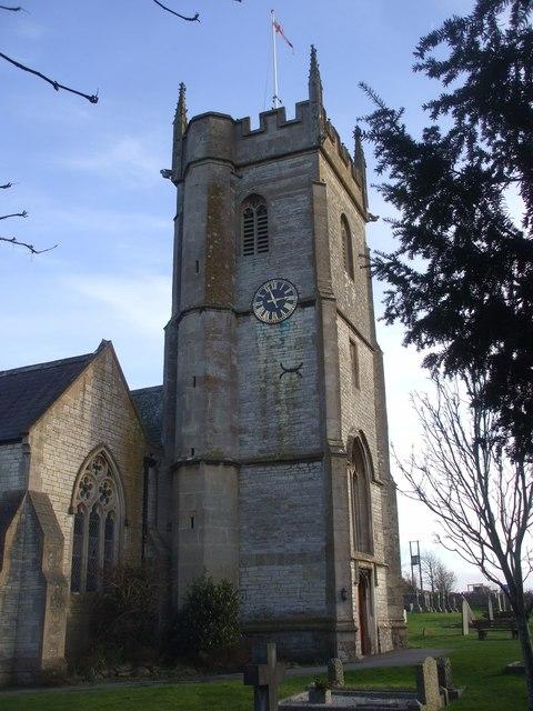 Tower of All Saints Church, Farmborough