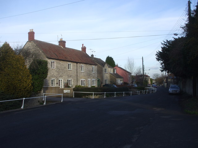Junction of The Street and Poor Hill, Farmborough
