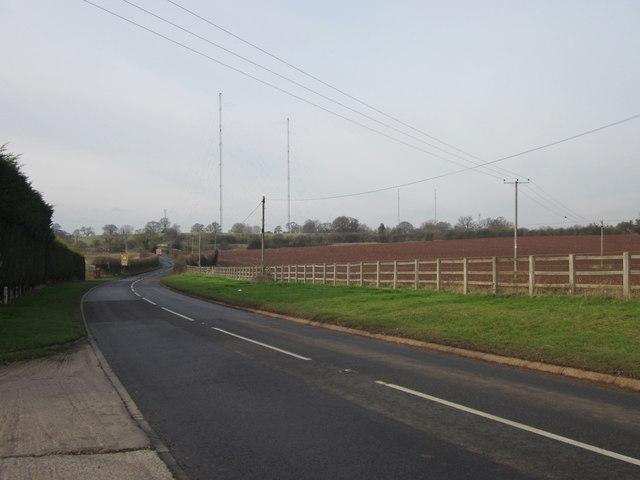 Shaw Lane Towards Wychbold