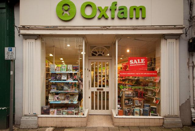Oxfam Charity Shop, Princess Street, Knutsford